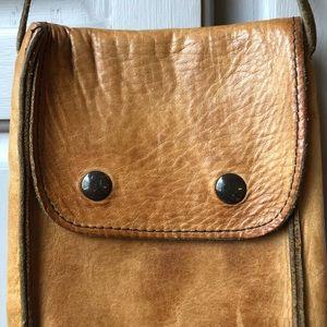 Vintage Bags - Vintage |  Leather Mini Crossbody Bag